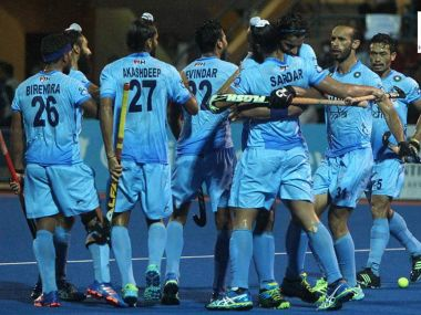 Indian Hockey Team. Image Courtesy: Twitter@HockeyIndia
