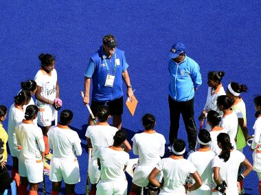File photo of Indian Women Hockey team. AFP