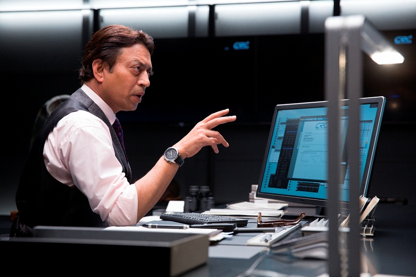 Irrfan Khan as Harry Sims in the upcoming 'Inferno'