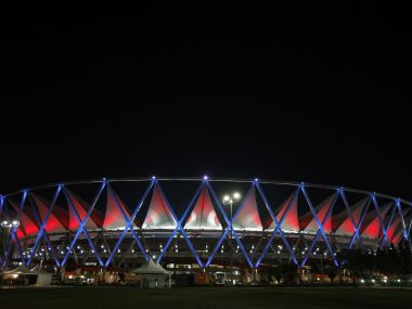 File photo of Jawaharlal Nehru Stadium. Reuters