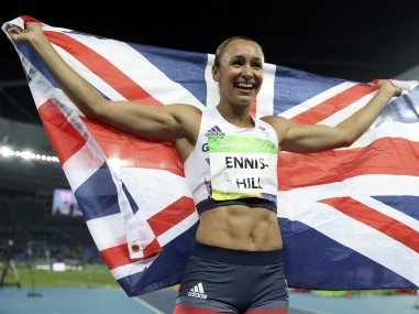 Jessica Ennis-Hill of Britain at the Rio Olympics. Reuters