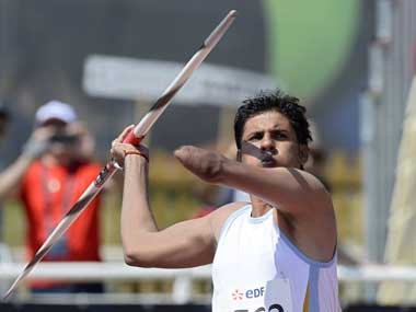 Devendra Jhajharia, India's most successful athlete at Olympics with two gold medals. AFP