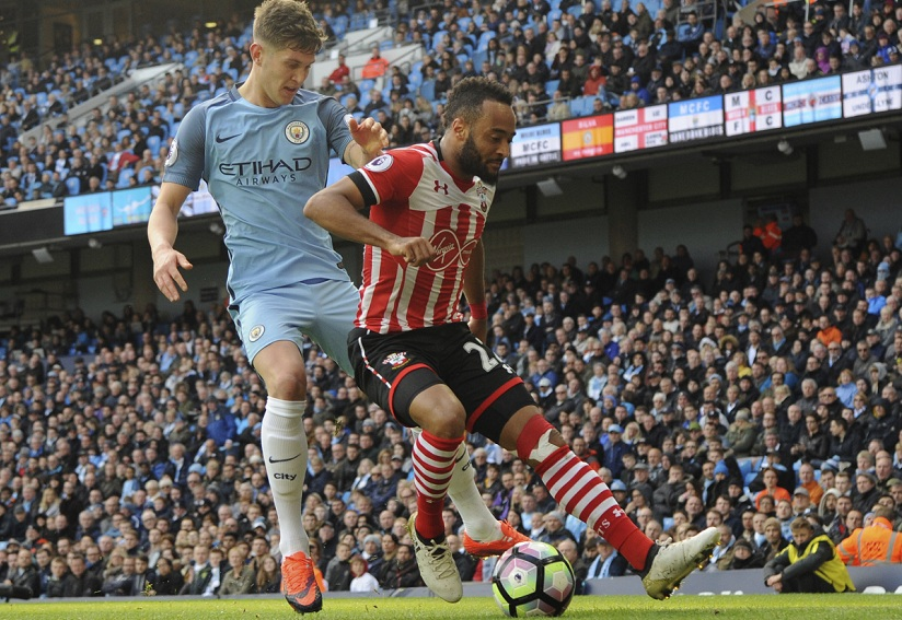 Manchester City's John Stones' defending has left much to be desired. AP