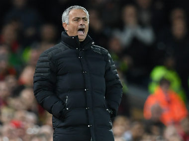 Jose Mourinho believes his team deserves less criticism than Liverpool. AFP