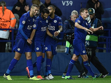 Leicester City will look to avoid being the first reigning English champions to get relegated since Manchester City. AFP