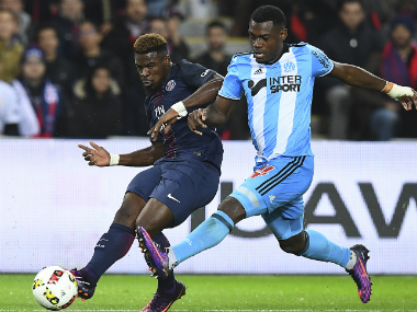 PSG's draw with Marseille ensured Nice consolidated their position at the top of the Ligue 1 table. AFP