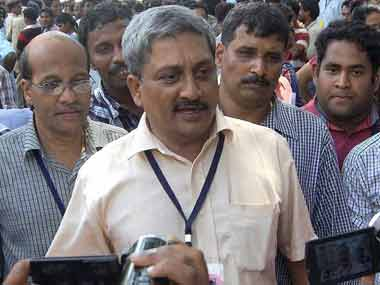 A file photo of Manohar Parrikar. PTI