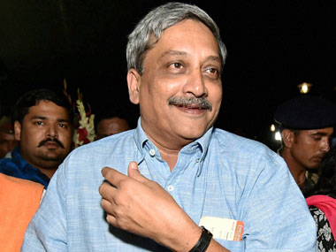 File photo of Manohar Parrikar. PTI