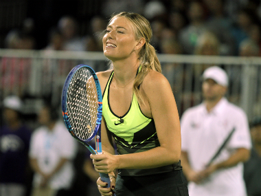 File photo of Maria Sharapova. AFP