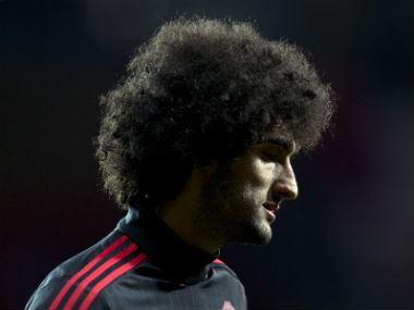 File photo of Marouane Fellaini. AFP