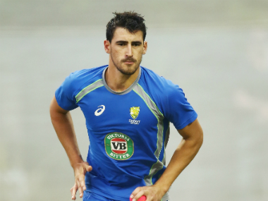 File photo of Mithcell Starc. Getty Images
