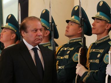 Pakistan PM Nawaz Sharif. AFP