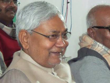 Bihar Chief Minister Nitish Kumar. Image courtesy: Facebook