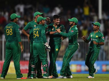 Pakistan's ODI team has risen to eighth place in ODI rankings. Getty Images