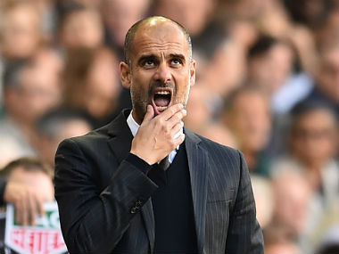 Manchester City boss Pep Guardiola aims to return to winning ways next season. AFP