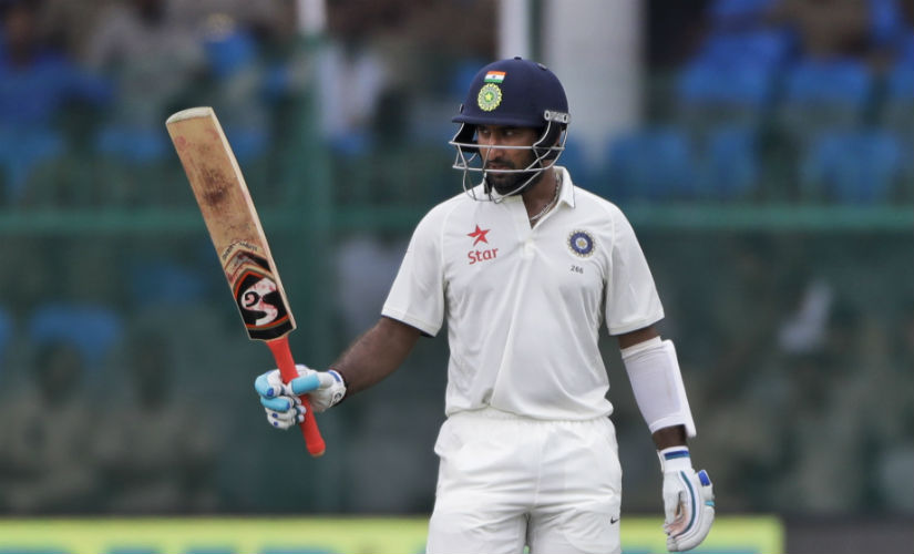 Cheteshwar Pujara ended the series as the top run-getter for India. AP