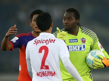 Pune City earned a draw due to goalkeeper Apoula Edel Bete's heroics. ISL
