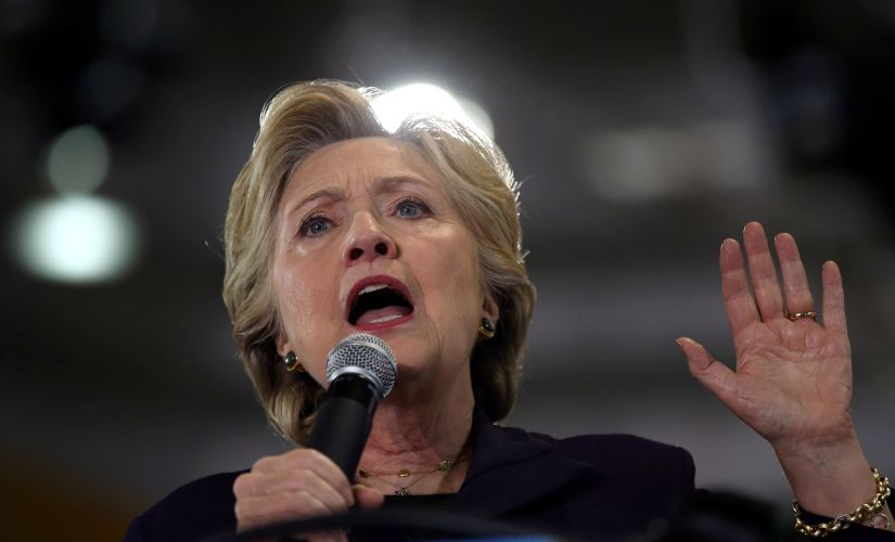File photo of Hillary Clinton. Reuters