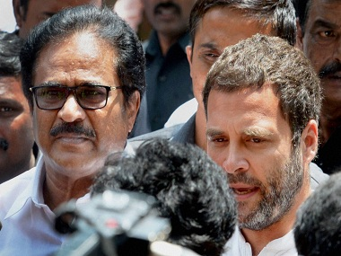 Chennai: Congress Vice-President Rahul Gandhi interacts with mediapersons outside Apollo Hospital, where Tamil Nadu CM is admitted, in Chennai on Friday. PTI Photo by R Senthil Kumar(PTI10_7_2016_000072B)