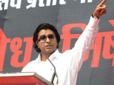 File image of Raj Thackeray. PTI