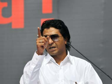 Raj Thackeray. AP
