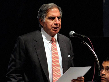 Ratan Tata. File photo. PTI