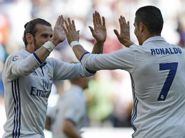 File image of Cristiano Ronaldo and Gareth Bale