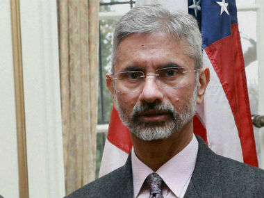 File image of S Jaishankar. PTI