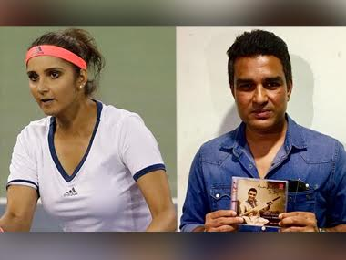 Sania Mirza and Sanjay Manjrekar