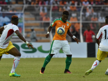 Serge Aurier's quick-thinking saved a player's life. AFP