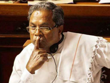File image of chief minister siddaramaiah. CNN-News18