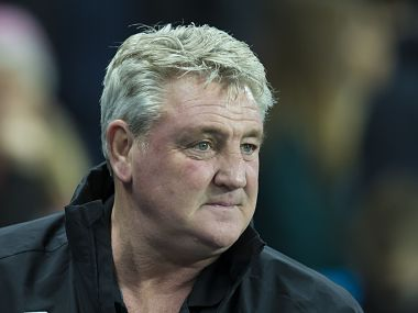 File photo of Steve Bruce. AP