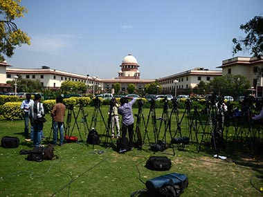 The Supreme Court of India. AFP file image