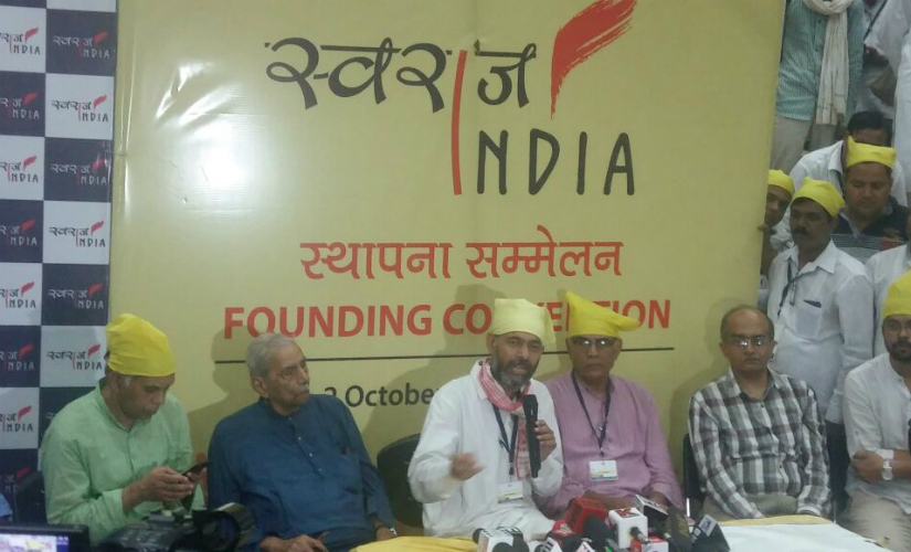 Yogendra Yadav will head Swaraj India party, PRashant Bhushan will continue working on public issues and campaigns as the national president of Swaraj Abhiyan. (Photo: Debobrat Ghose)