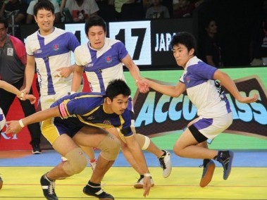 Thailand and Japan showed extraordinary grace on the field this Kabaddi World Cup.