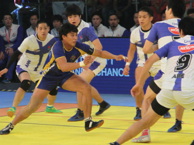 Thailand will face India in the Kabaddi World Cup semifinals. Image credit: Twitter/@StarSportsIndia