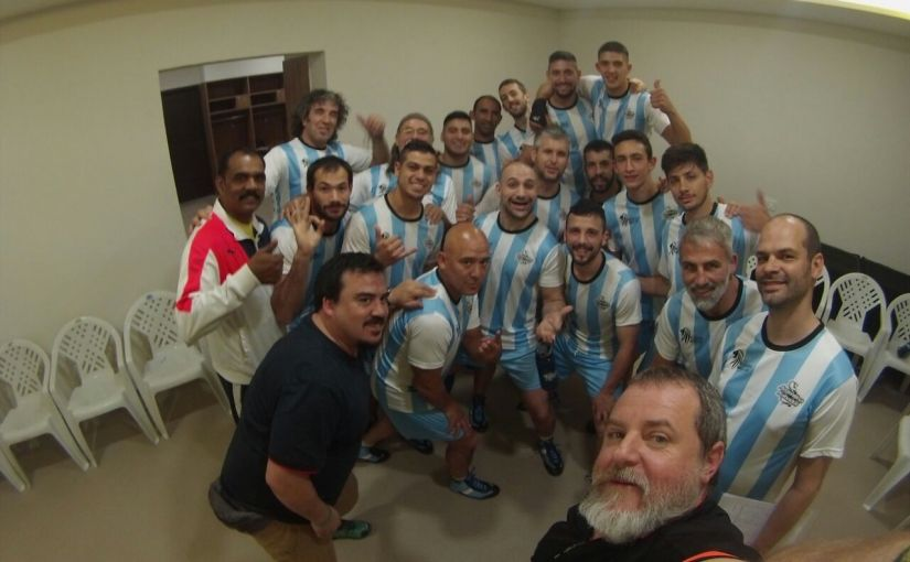 The Argentina Kabaddi team. Image Credit: Deepti Patwardhan/Firstpost