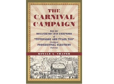 Cover of the book, The Carnival Campaign. AP