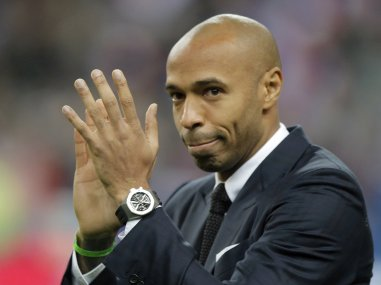 File photo of Thierry Henry. AP