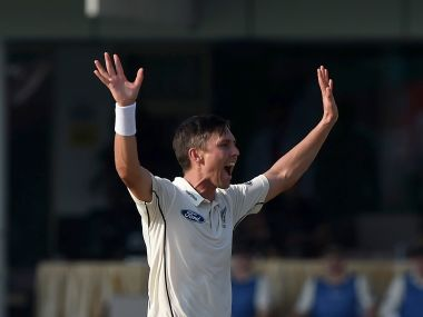 New Zealand bowler Trent Boult. AFP