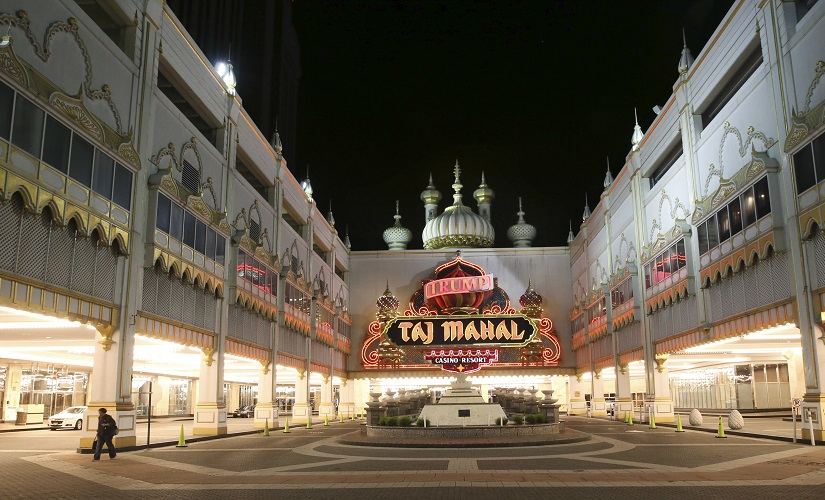 File image of the now-closed Trump Taj Mahal in Atlantic City, New Jersey. AP