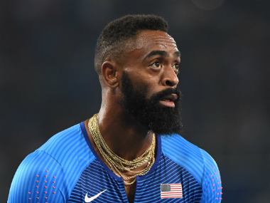 File image of Tyson Gay. AFP