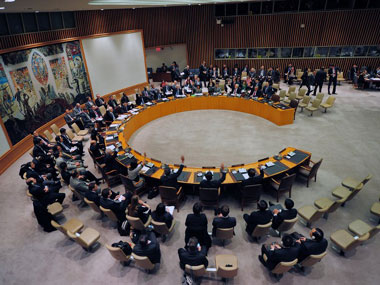 US is not happy with the way Russia and China exercise their veto power in the UNSC. AFP