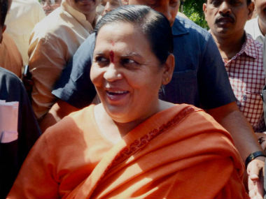 Uma Bharti arrives at the district court. PTI