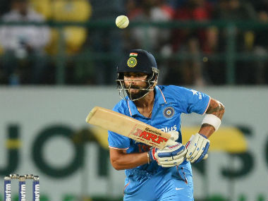 Virat Kohli brought up his 37th ODI fifty. AFP