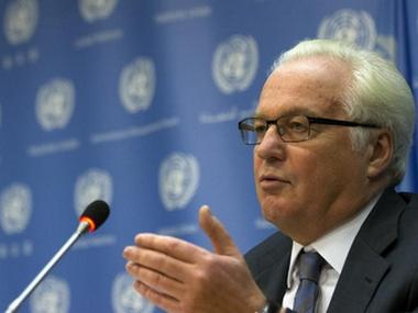 Russian ambassador to the United Nations Vitaly Churkin. Reuters