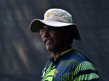 File photo of former Pakistan head coach and pace legend Waqar Younis. AFP