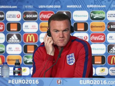 File photo of England captain Wayne Rooney. AFP