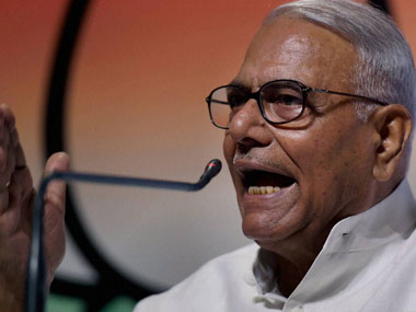 Former Union Finance Minister Yashwant Sinha. PTI