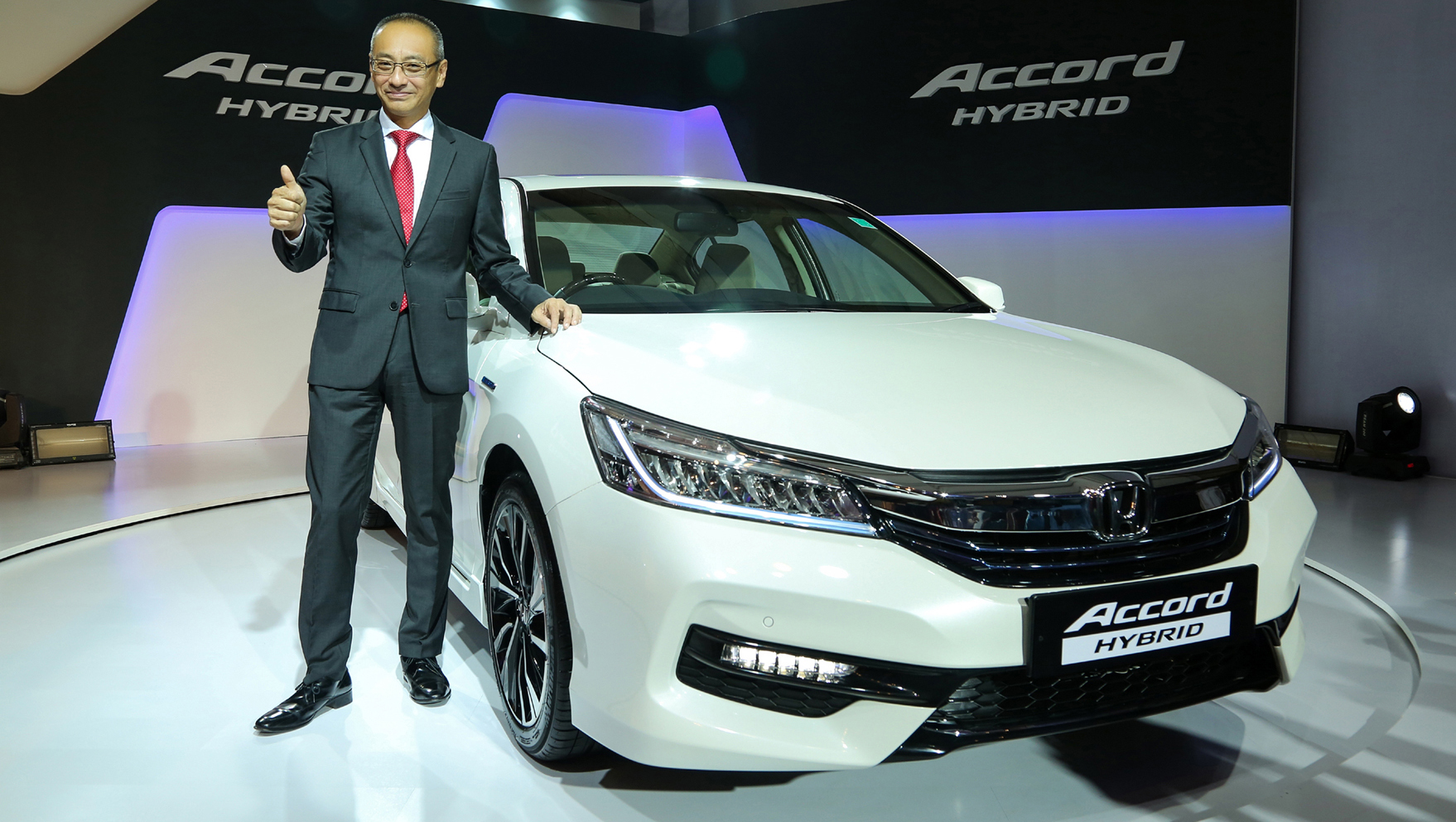 india bound honda accord hybrid unveiled in thailand. Black Bedroom Furniture Sets. Home Design Ideas